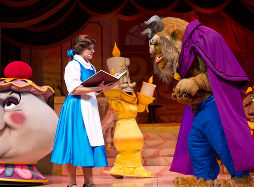 Beauty and the Beast-Live on Stage Closing for 2 Week Refurbishment