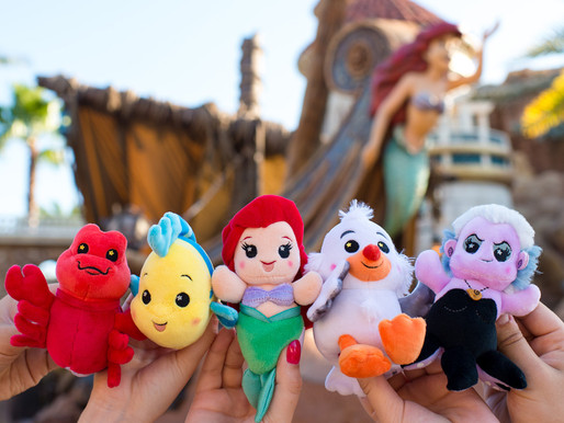 New Wishables Collection Inspired by The Little Mermaid Arrives at Disney Parks