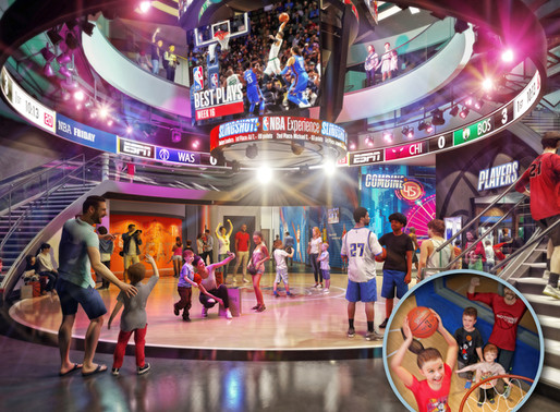 NBA Experience to Open at Disney Springs on August 12th