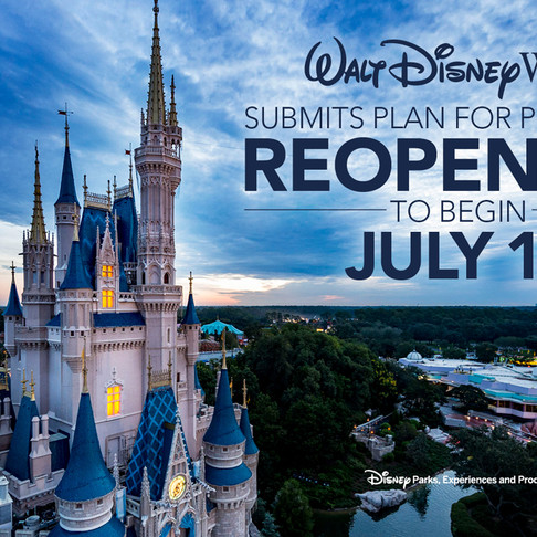 Walt Disney World Reveals Proposal to Reopen Theme Parks in July