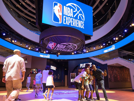 Watch the Grand Opening Ceremony of the NBA Experience at Disney Springs
