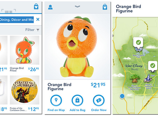 Shop Disney Parks App Retiring at the End of this Month