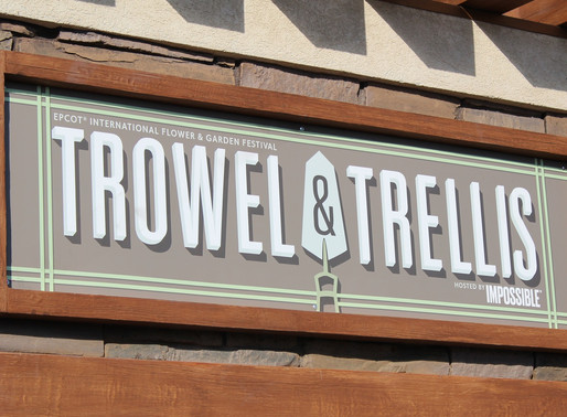 FOOD REVIEW: Trowel & Trellis at Epcot Flower & Garden Festival