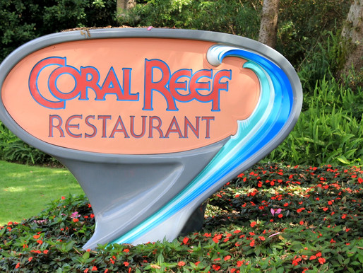 FOOD REVIEW: Dinner at Coral Reef Restaurant at Epcot