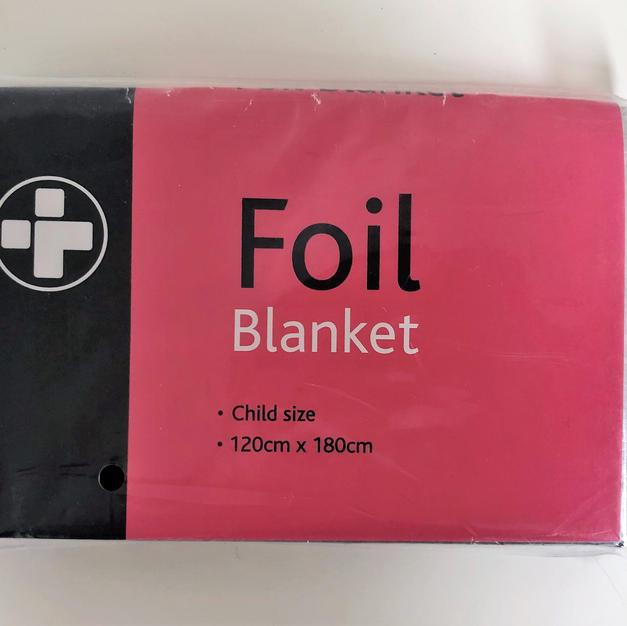 Foil blanket: £1