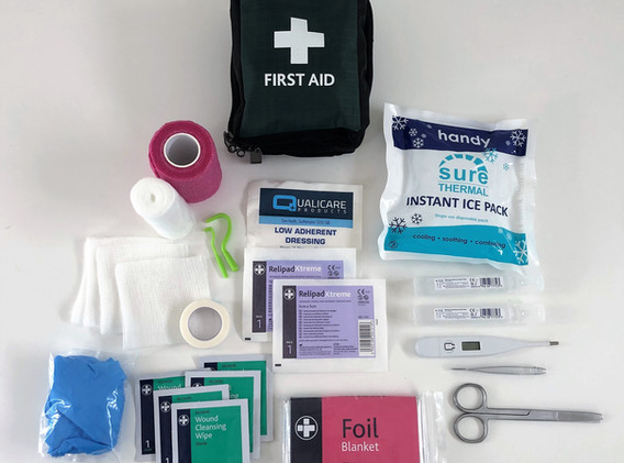 First Aid Kit: Contents