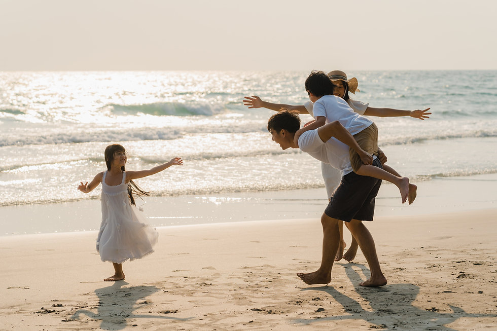 asian-young-happy-family-enjoy-vacation-beach-evening-dad-mom-kid-relax-playing-together-n
