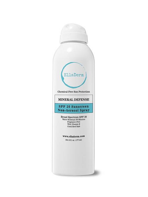 EllaDerm Mineral Defence SPF 30 Sunscreen Non-Aerosol Spray