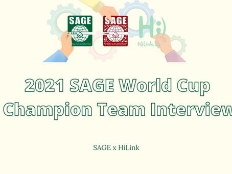HiLink Interviews SAGE 2021's Winning Team, ScoreTrack