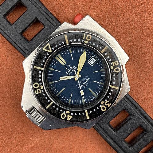 """Omega Ploprof Mark I 166.077  """"Double blue"""""""
