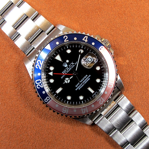 "Rolex  GMT-MASTER 16700 ""Swiss Only"""