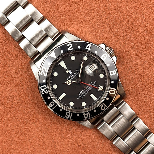 "Rolex GMT-MASTER 16750 ""MarK II"""