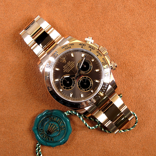 "Rolex Daytona ""Chocolate"" 116505"