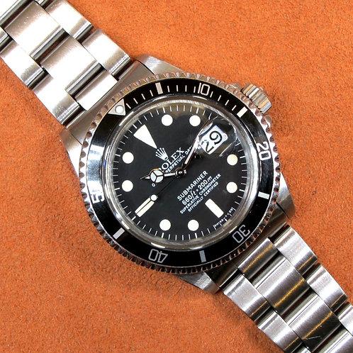 "Rolex Submariner 1680 ""Mark 1"""