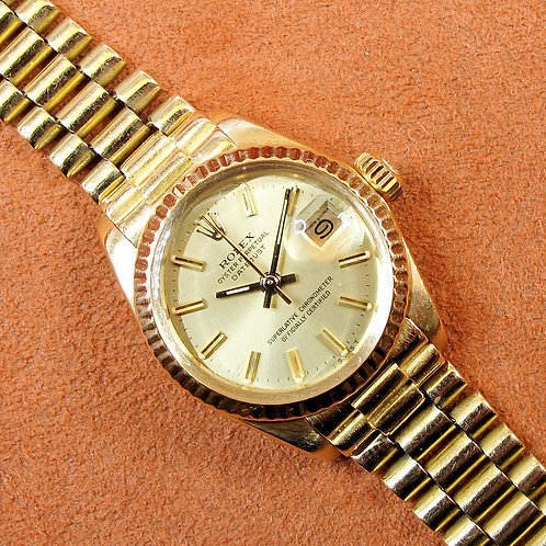 Rolex Datejust 6917 18k