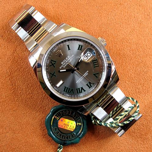 """Rolex Datejust 126300 """"Wimbledon"""""""