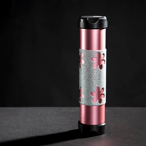 Light Pink Shimmering with Flower Grip Large AXION Trainer
