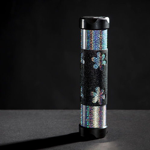 Silver Shimmering with Flower Grip Large AXION Trainer