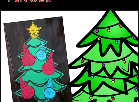 Christmas Tree Five Finger Retell