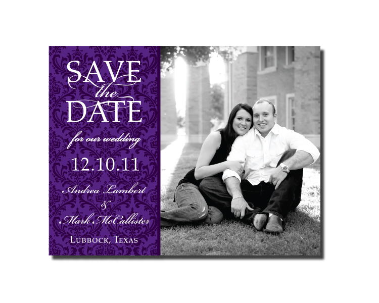 Multiple Picture Save the Date