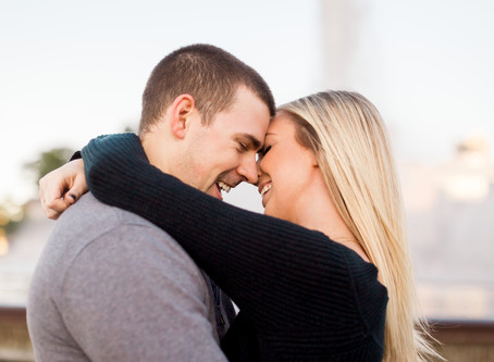 She Said YES!! | Dave + Allison's Surprise Engagement | Northshore - Downtown Pittsburgh