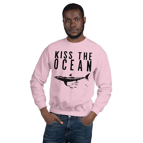 KISS THE OCEAN CREWNECK SWEATER