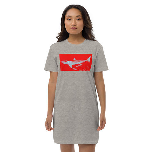 Great White Shark T-Shirt Dress