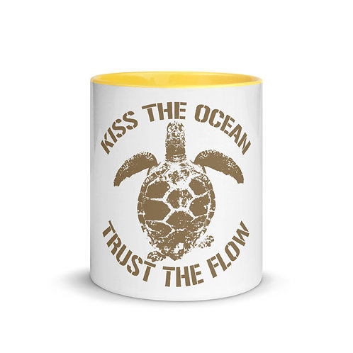Trust The Flow Turtle Mug