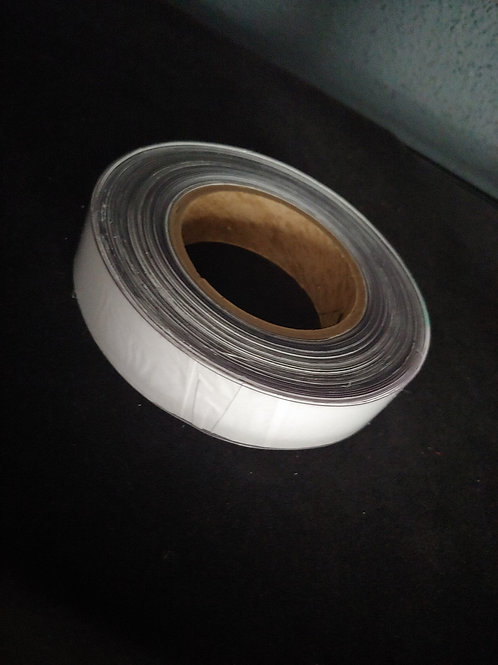 "1"" Wide Clear GloTrim Vinyl-25 YDS"