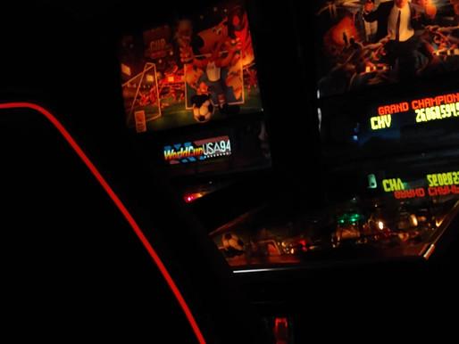 First GloTrim Bar Gaming Stool