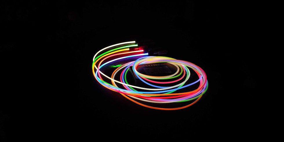 glotrim light pipes fiber optic