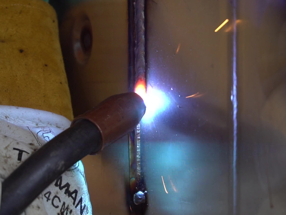Slow-Mo Welding shot