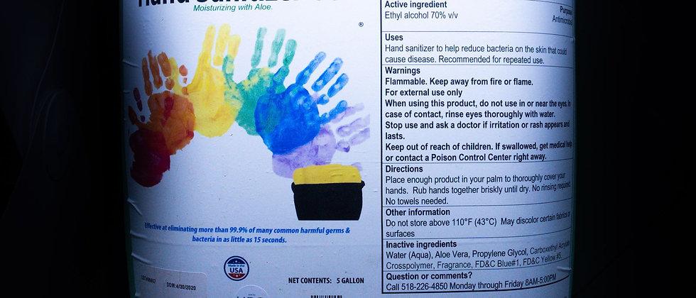 5gal Gel Hand Sanitizer Dispenser Refill