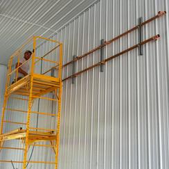 Copper Glycol Line Installation