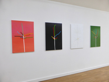 Exhibition view 'Intersecties' 2019 The White House Gallery