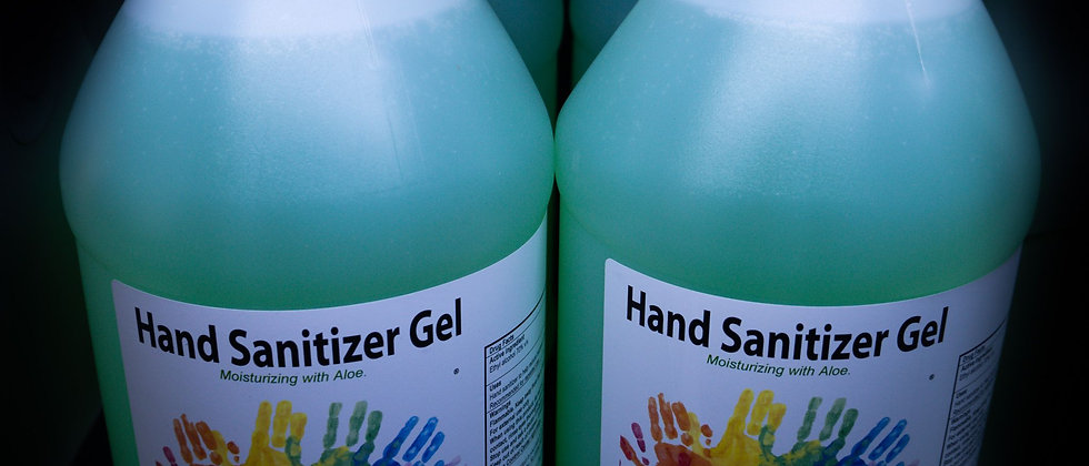 1gal Gel Hand Sanitizer Case