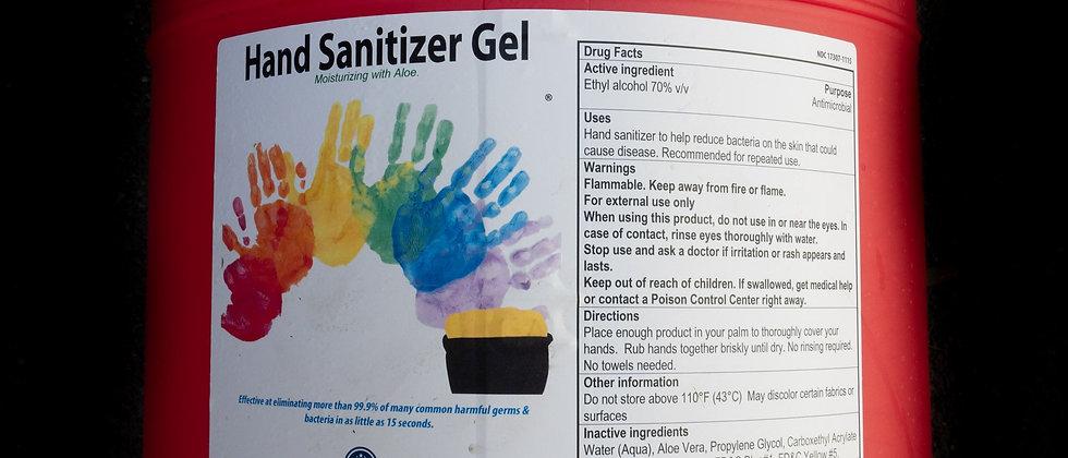 15gal Gel Hand Sanitizer Dispenser Refill