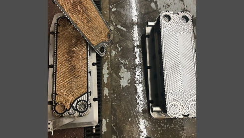 Heat Exchanger Cleaning Example