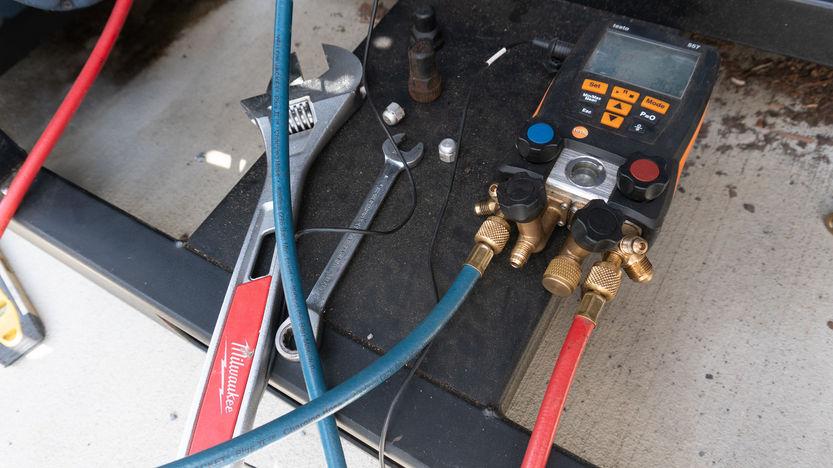 Chiller Repair Tools