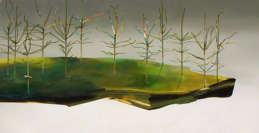 Stilleven met Picea abies naar V. De Saedeleer
