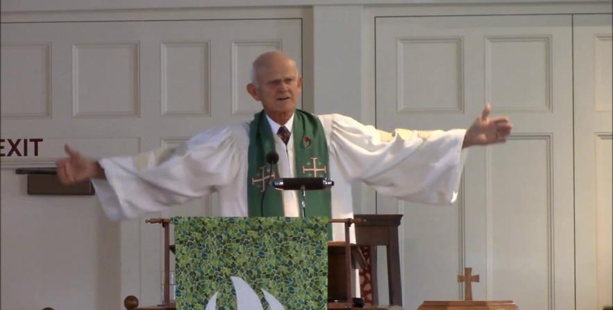 Sept 8, 2019. Rev. Dr. Calvin Mutti, guest preacher.
