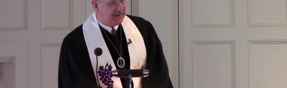 Rev. Darren Morgan - our new Pastor