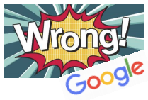 Could Google be Wrong?