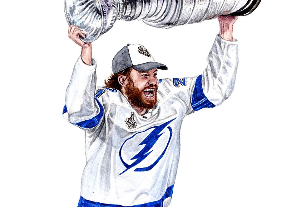BRAYDON POINT, 2020 STANLEY CUP CHAMPIONS - ORIGINAL