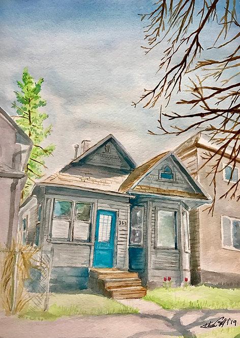 West End House - Print