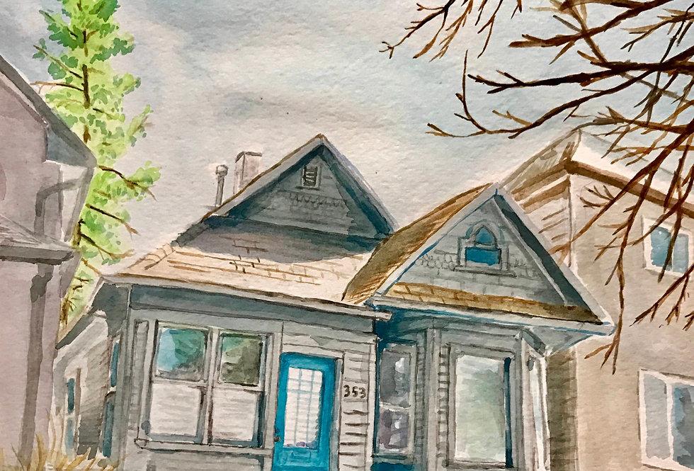 CUSTOM - HOUSE PORTRAIT - N/A