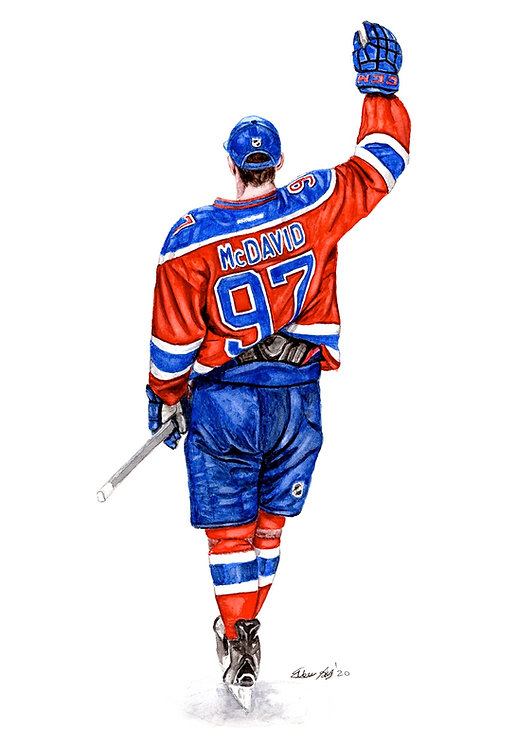 CONNOR MCDAVID - ORIGINAL