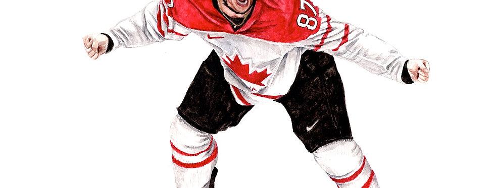 Sidney Crosby - Print