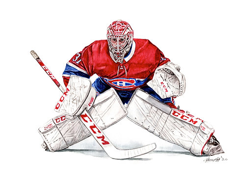 Carey Price - Print