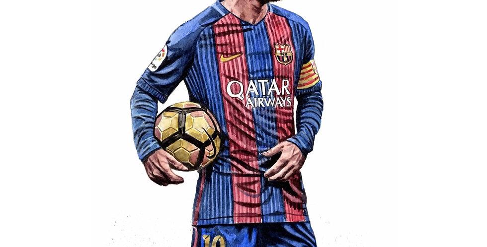 Lionel Messi - Print